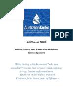 Water Pumps Gold Coast - Australian Tanks