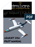 Learjet 35A Manual