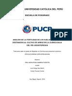 Pontificia Universidad Católica Del Perú-Analisiferti