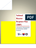 NDRP Consequence Management for Terrorism Related Incidents