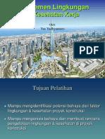 2. Manajemen Lingkungan Dan Kesehatan Proyek