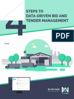 4 Steps to Data-Driven Bid and Tender Management