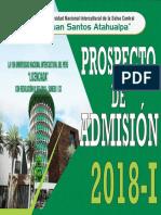 Prospecto de Admision 2018