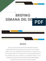 Briefing Semana Del Diseño