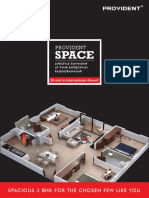 Provident Space Lifestyle Brochure