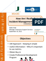 Incident Management Metrics