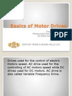 Basics of Motor Drives