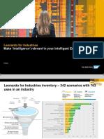 SAP Leonardo for Industries
