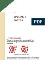 UNIDAD 1 Parte 2 Disoluciones Molaridad Normalidad Moles