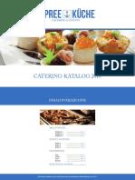 Catering Katalog 2018