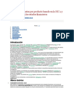 El Sistema de Costos Por Producto Basado en La NIC 2 y Su Influencia en Los Estados Financieros