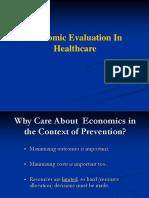 Economic Evaluation in Healthcare