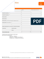 Proforma Assets and Liabilities