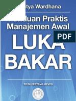 Buku Saku Luka Bakar - Aditya Wardhana - 1st Ed.