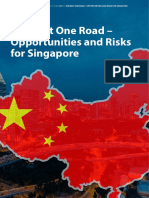 One Belt One Road - Opportunities and Risks for Singapore