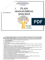 Plan Managerial 2018 2019