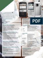NokiaE5 Datasheet