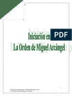 Manual Sintonización Orden Sagrada Del Arcangel Miguel