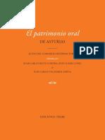 El Corpus Asturiano de Oraciones Ensalmo