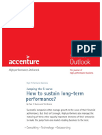 Accenture How to Sustain Long Term Performance