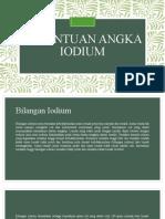 Penentuan Angka Iodium