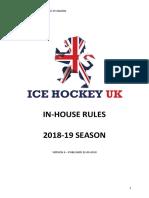 Ice Hockey Equipment Checklist (PDF)