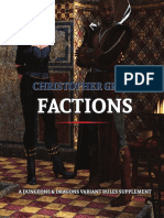 Christopher Greys Dnd5e Factions
