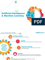 GreatLearning AI and ML brochure