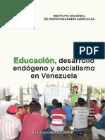 Educacion, desarrollp endogeno y socialismo en Venezuela