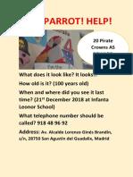 lost parrot