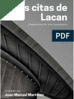 Las citas de Lacan. Fragmentos de una enseñanza