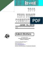 Budget 2010 Final