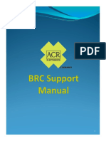 BRC Support Manual