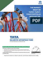 Tata Balanced Advantage Fund Nfo Scheme Brochure