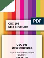 CSC508