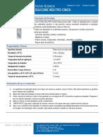 Tds Ficha Tecnica Silicone Neutro Cinza Rev 06 17
