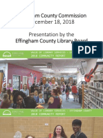 2018 library community value report Effingham