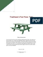 Traditional Picnic Table.pdf