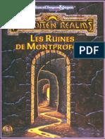 Les Ruines de Montprofont VF