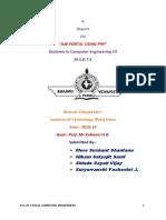 Online Job Portal Using PHP,MySQL Project Full Report