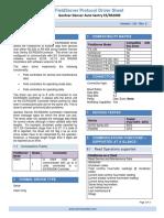 Protocol Driver Sheet - Gardner Denver