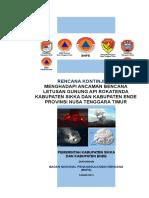 Rencana Kontigensi Gunung API Rokatenda Nusa Tenggara Timur