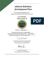 Southwest Hoboken Redevelopment Plan- adopted June 7 2017