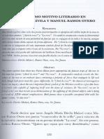 La Rosa Como Motivo Literario en Angela Maria Davila
