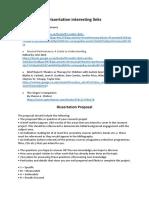 Dissertation interesting links.docx