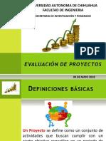 Evaluación de proyectos Clase 2da Semana
