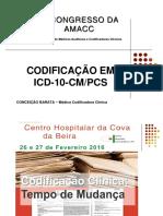 8 Congresso - Apresentações - 4 - Codificacao em ICD-10-CM & PCS