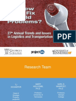 2018 annual trends in logistics and transportation