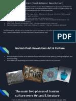 copy of culture in iran  post-islamic revolution