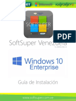 Guia Instalación Windows 10 Enterprise - Softsuper Venezuela